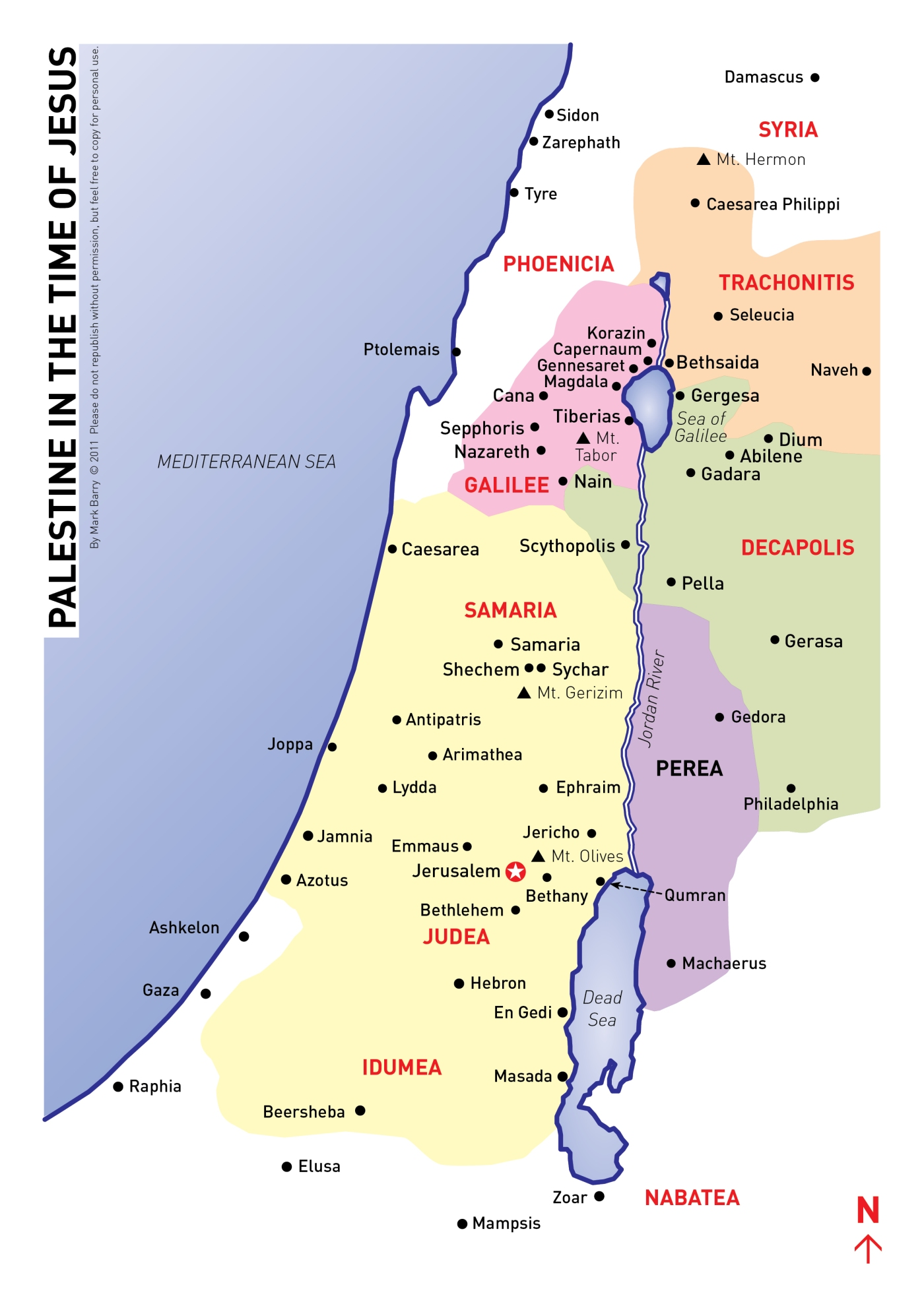 Palestine map | VISUAL UNIT on