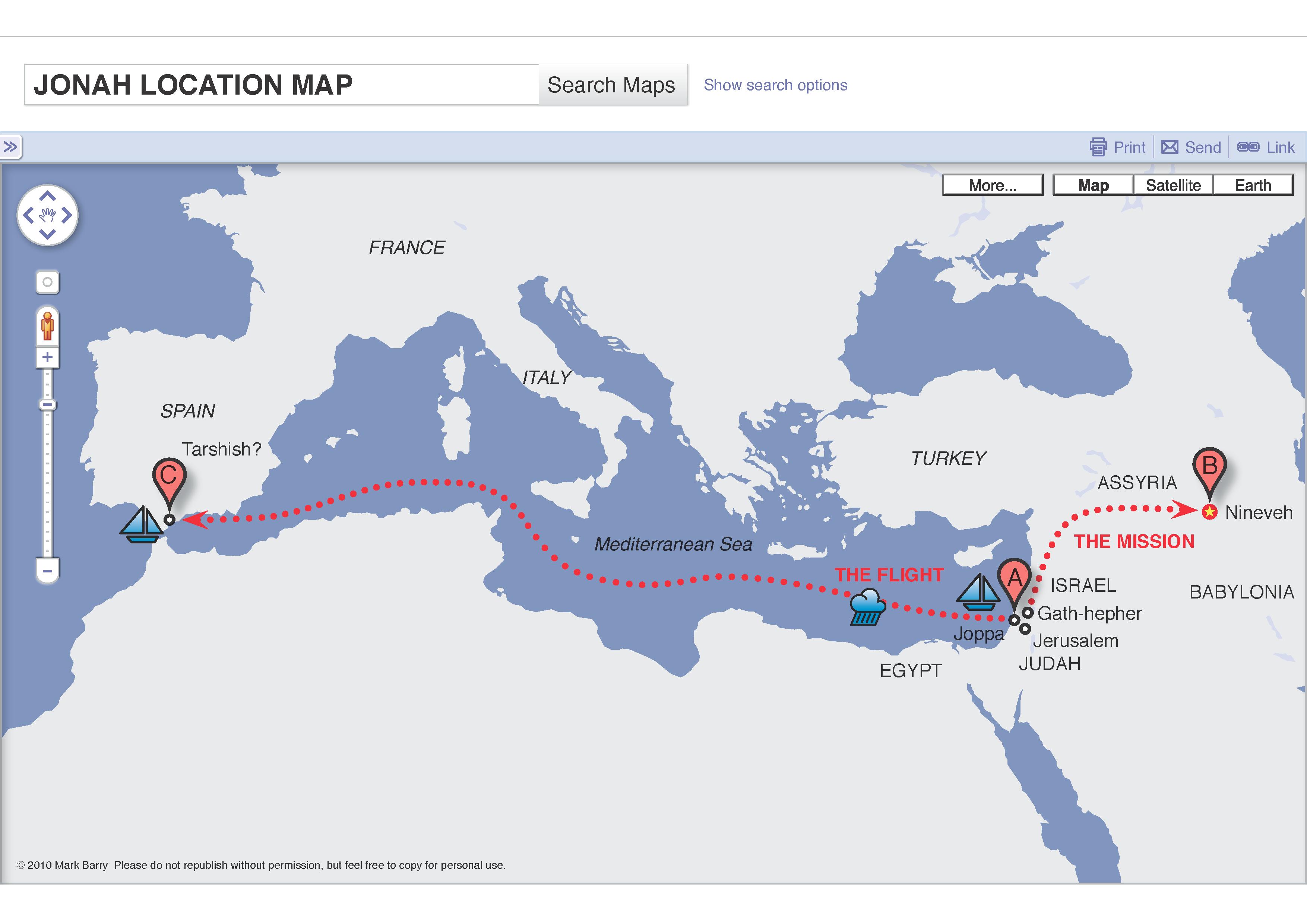 jonah map
